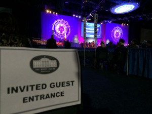 White House Guest at American Legion Convention in Charlotte, NC